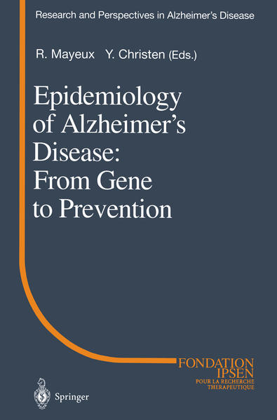 Epidemiology of Alzheimer's Disease: From Gene to Prevention - Coverbild