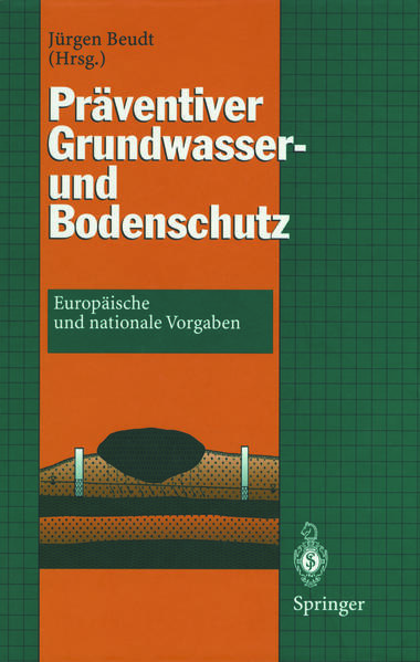 Präventiver Grundwasser- und Bodenschutz - Coverbild
