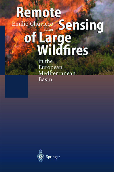 Remote Sensing of Large Wildfires - Coverbild