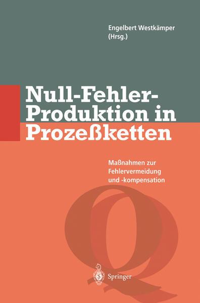 Null-Fehler-Produktion in Prozeßketten - Coverbild