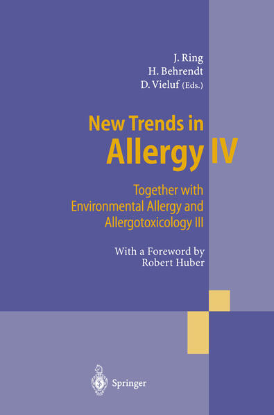 New Trends in Allergy IV - Coverbild