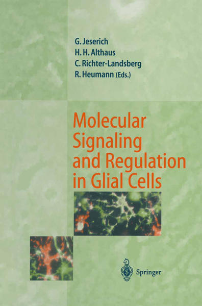 Molecular Signaling and Regulation in Glial Cells - Coverbild
