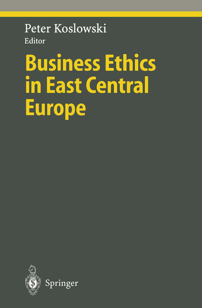 Business Ethics in East Central Europe - Coverbild