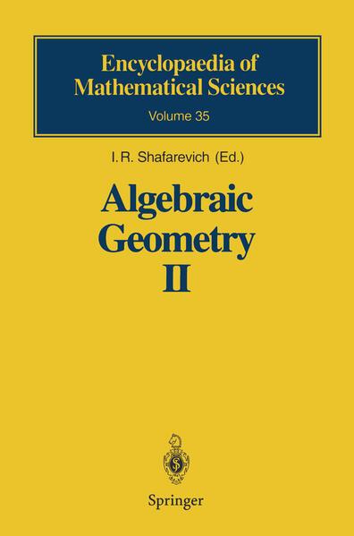 Algebraic Geometry II - Coverbild