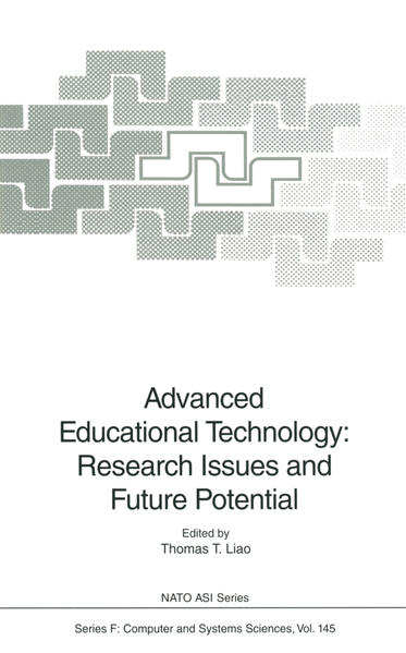Advanced Educational Technology: Research Issues and Future Potential - Coverbild
