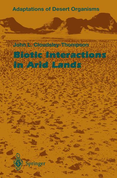Biotic Interactions in Arid Lands - Coverbild