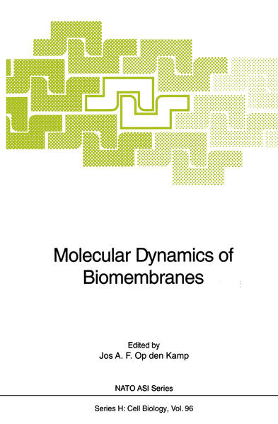 Molecular Dynamics of Biomembranes - Coverbild
