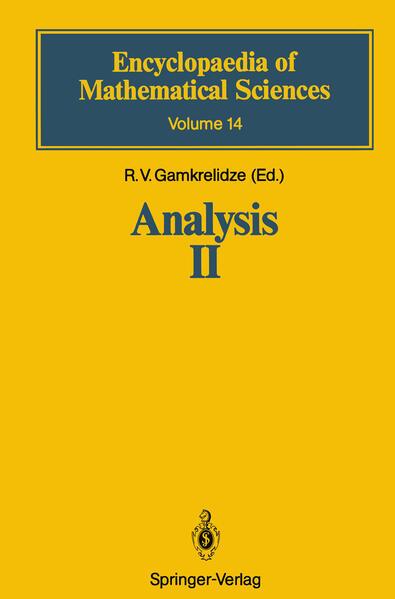 Analysis II - Coverbild