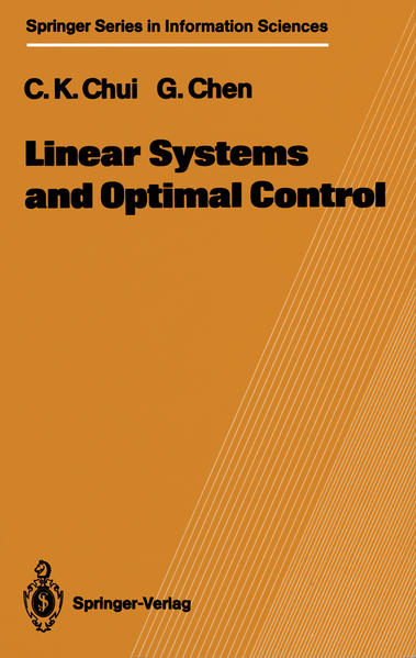 Linear Systems and Optimal Control - Coverbild