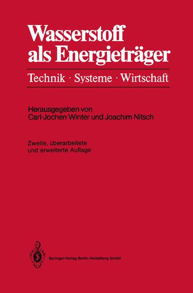 Wasserstoff als Energieträger - Coverbild