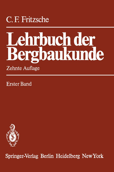 Lehrbuch der Bergbaukunde - Coverbild