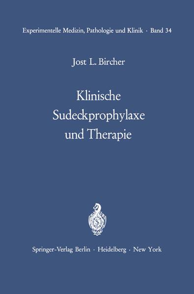 Klinische Sudeckprophylaxe und Therapie - Coverbild