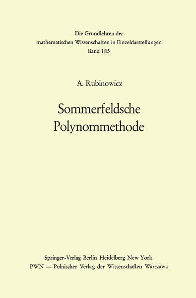 Sommerfeldsche Polynommethode - Coverbild