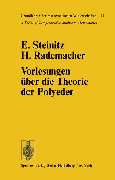 Vorlesungen über die Theorie der Polyeder - Coverbild