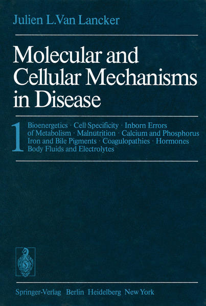 Molecular and Cellular Mechanisms in Disease - Coverbild