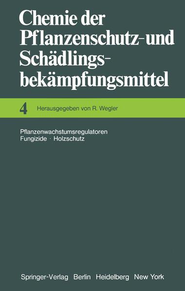 Chemie der Pflanzenschutz- und Schädlingsbekämpfungsmittel - Coverbild