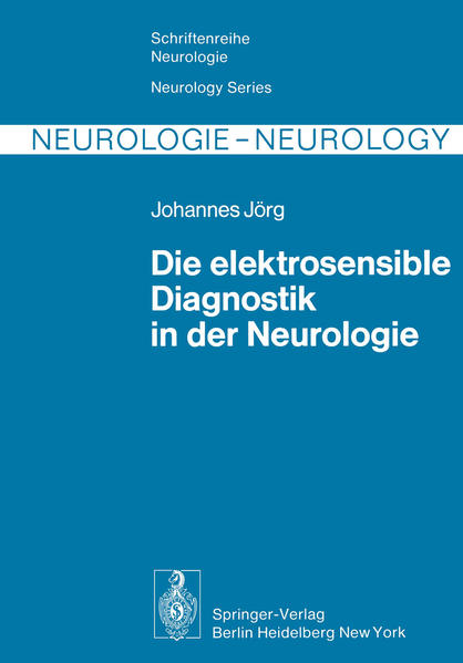 Die elektrosensible Diagnostik in der Neurologie - Coverbild