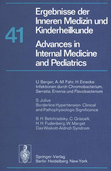 Ergebnisse der Inneren Medizin und Kinderheilkunde / Advances in Internal Medicine and Pediatrics - Coverbild