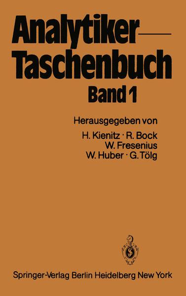 Analytiker-Taschenbuch - Coverbild