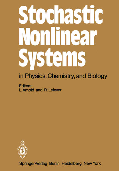 Stochastic Nonlinear Systems in Physics, Chemistry, and Biology - Coverbild