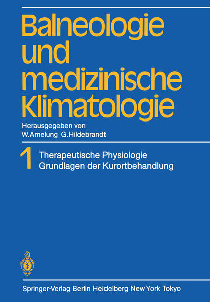 Balneologie und medizinische Klimatologie - Coverbild