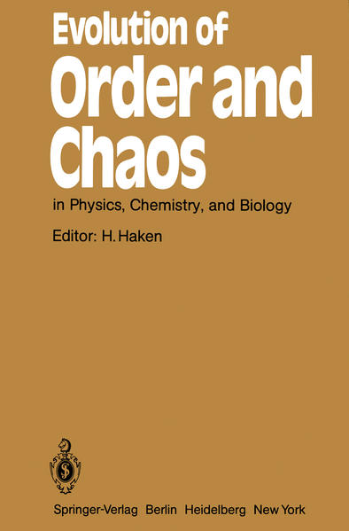 Evolution of Order and Chaos - Coverbild