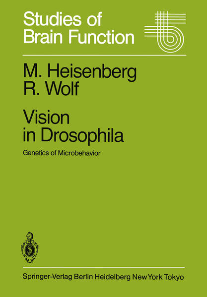 Vision in Drosophila - Coverbild