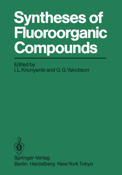 Syntheses of Fluoroorganic Compounds - Coverbild
