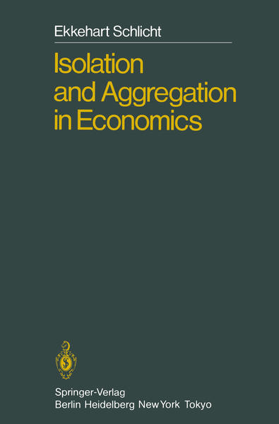 Isolation and Aggregation in Economics - Coverbild