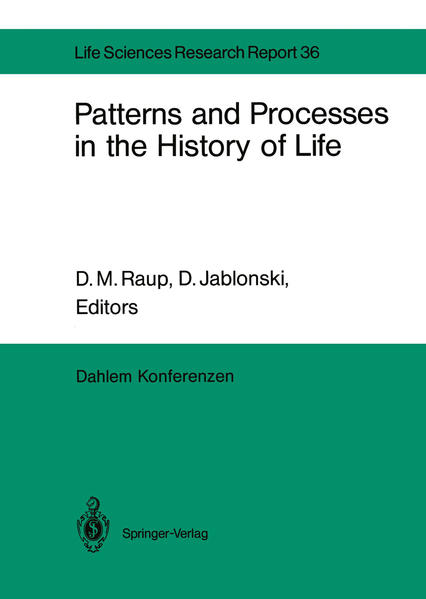 Patterns and Processes in the History of Life - Coverbild
