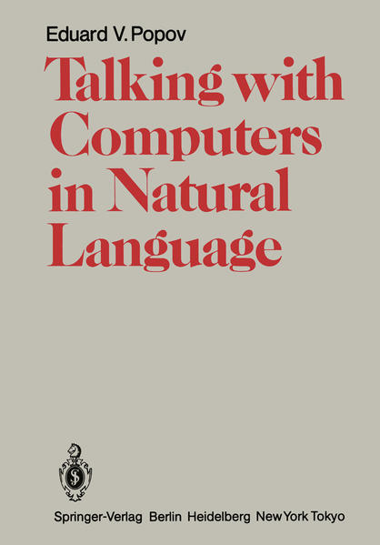 Talking with Computers in Natural Language - Coverbild