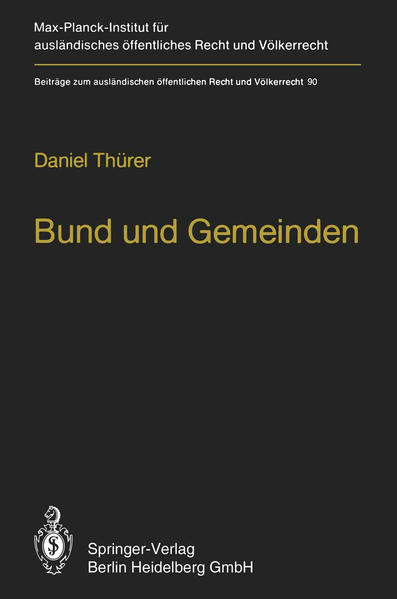 Bund und Gemeinden / Federal and Local Government - Coverbild