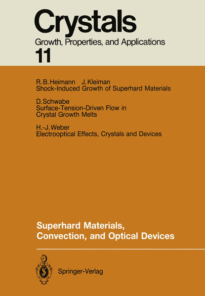 Superhard Materials, Convection, and Optical Devices - Coverbild