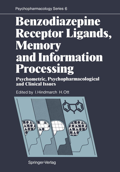 Benzodiazepine Receptor Ligands, Memory and Information Processing - Coverbild