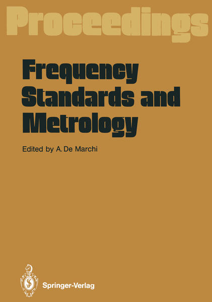 Frequency Standards and Metrology - Coverbild