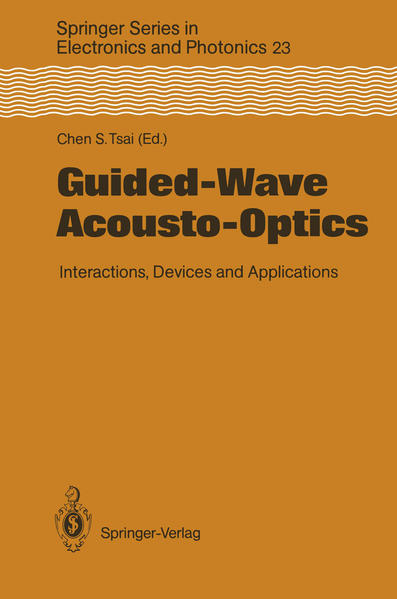 Guided-Wave Acousto-Optics - Coverbild