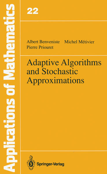 Adaptive Algorithms and Stochastic Approximations - Coverbild