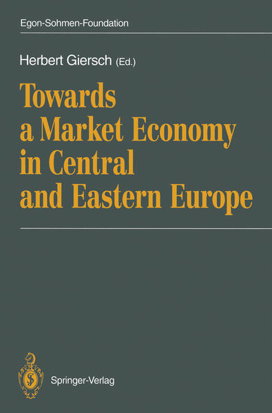 Towards a Market Economy in Central and Eastern Europe - Coverbild