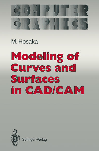Modeling of Curves and Surfaces in CAD/CAM - Coverbild