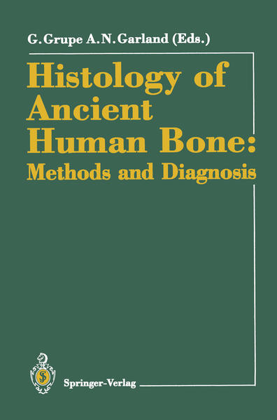 Histology of Ancient Human Bone: Methods and Diagnosis - Coverbild