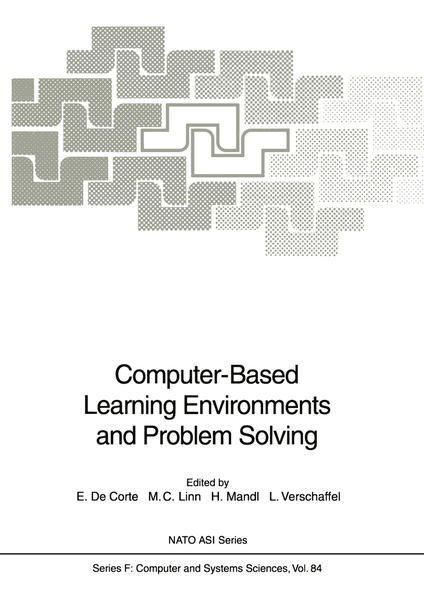Computer-Based Learning Environments and Problem Solving - Coverbild