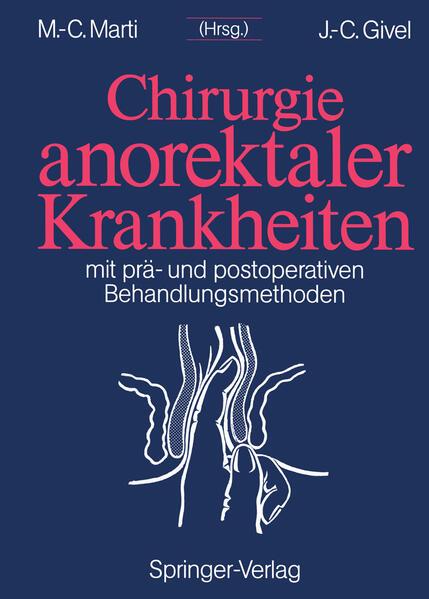Chirurgie anorektaler Krankheiten - Coverbild