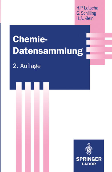 Chemie — Datensammlung - Coverbild