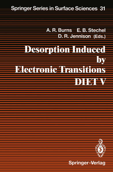 Desorption Induced by Electronic Transitions DIET V - Coverbild