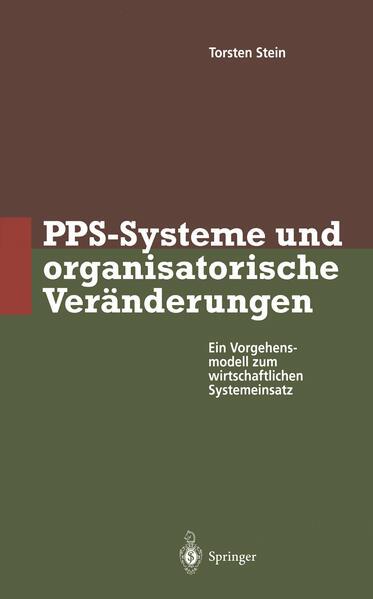 PPS-Systeme und organisatorische Veränderungen - Coverbild