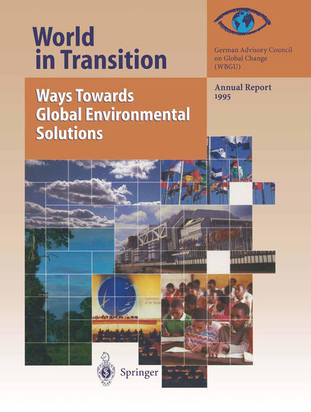 World in Transition: Ways Towards Global Environmental Solutions - Coverbild