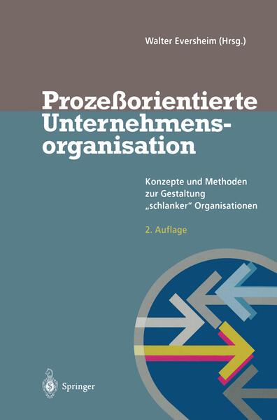 Prozeßorientierte Unternehmensorganisation - Coverbild