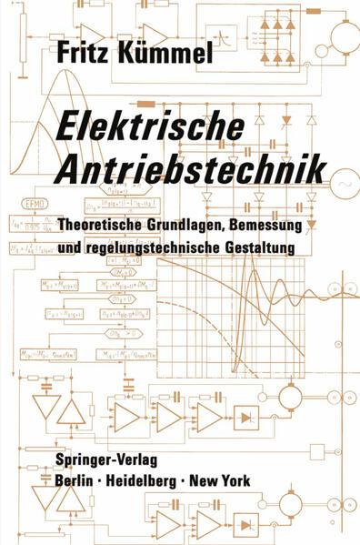 Elektrische Antriebstechnik - Coverbild