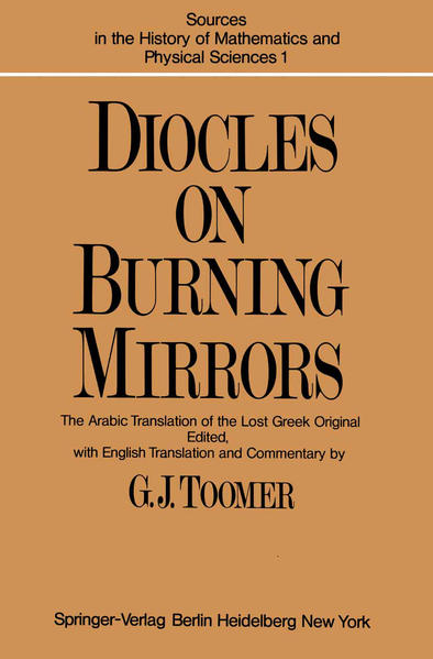 DIOCLES, On Burning Mirrors - Coverbild