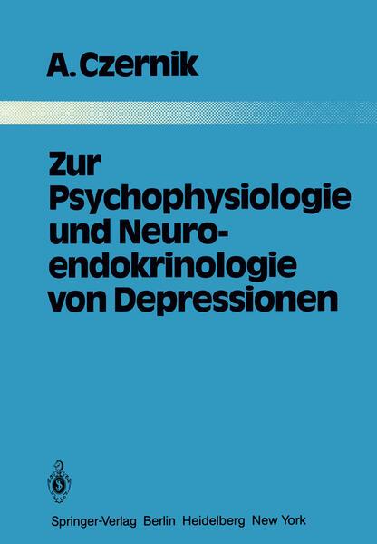 Zur Psychophysiologie und Neuroendokrinologie von Depressionen - Coverbild
